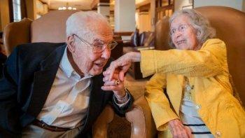 Una pareja cumple 80 años de casados