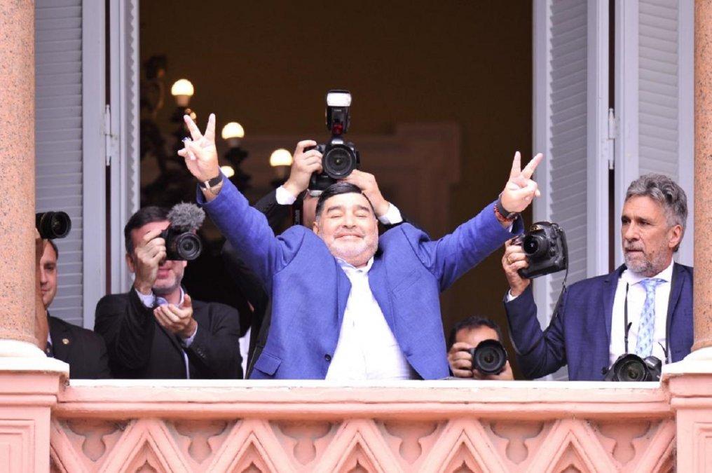 Maradona apoya el autocultivo de cannabis para uso medicinal