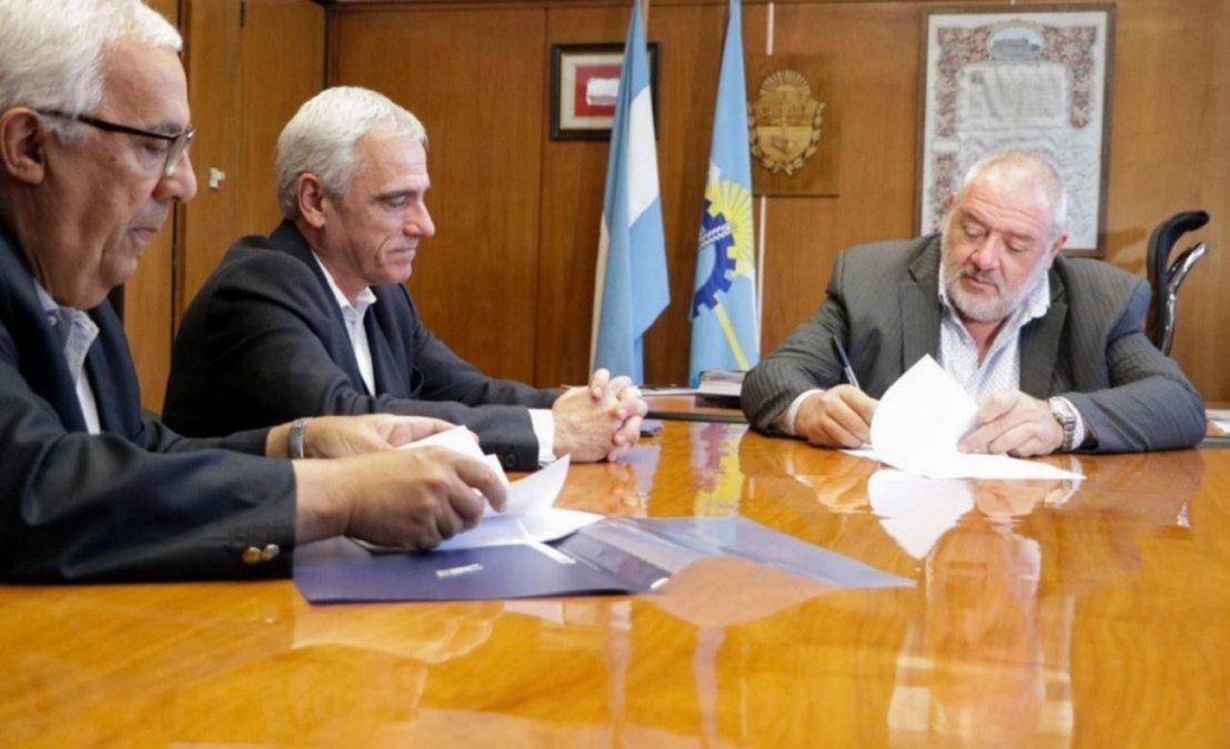 Acuerdo para construir una nueva sucursal de Banco del Chubut en Comodoro