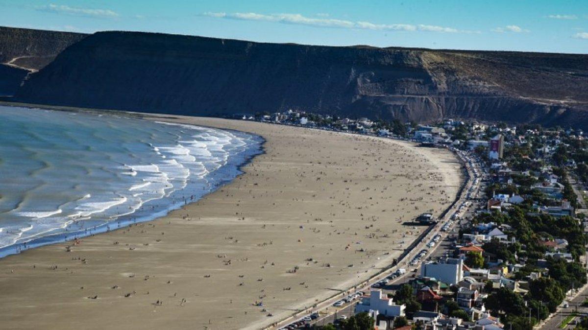 Rada Tilly apunta a una playa con distancia social