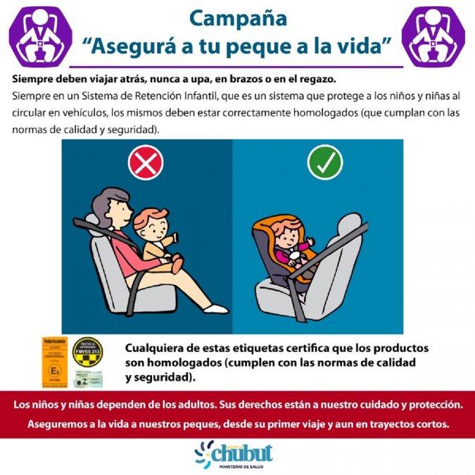 Tránsito: Lanzan campaña de Prevención de lesiones en menores