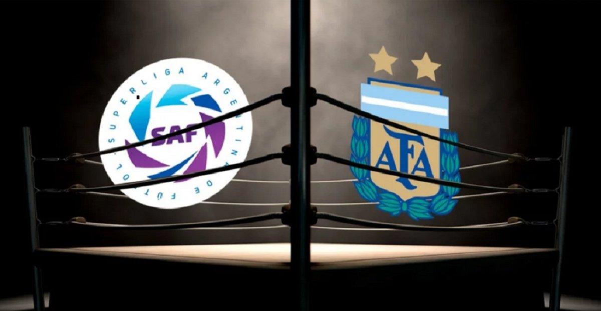 AFA arremetió contra la Superliga y se desató la polémica