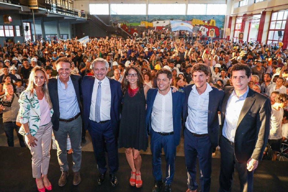 Alberto Fernández puso en marcha el Plan Argentina Hace