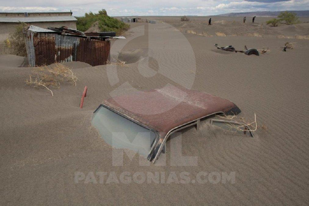 Chubut: Colhué Huapi el lago que hoy es un desierto
