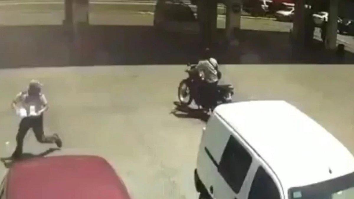 Asalto en una estación de servicio: el ladrón murió y un empleado fue baleado