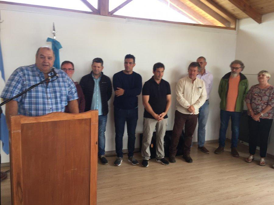 García dijo presente en el acto de la 34° Fiesta Nacional de la Fruta Fina