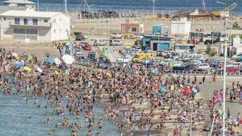 Estalló el verano y las playas se vieron colmadas