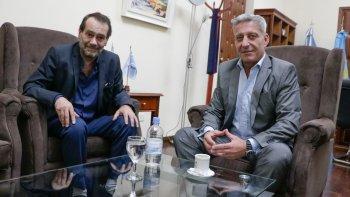 Arcioni tuvo un encuentro con Panizzi