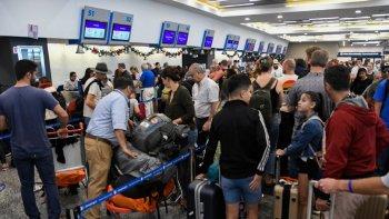 Suspendieron vuelos en Aeroparque por el mal tiempo