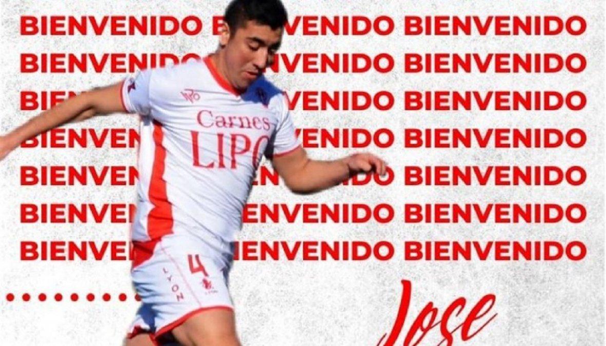 Jose Chacón es el 13º refuerzo del Globo para el Torneo Regional