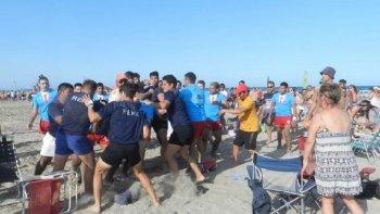 Rugbiers chubutenses protagonizaron una pelea en el seven de Río Negro