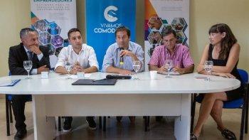 Se firmó un convenio para impulsar a los emprendedores