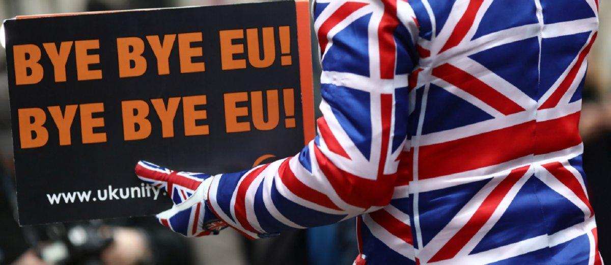 Gran Bretaña salió de la Unión Europea