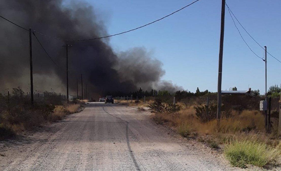 Incendio en El Doradillo ya se encuentra controlado