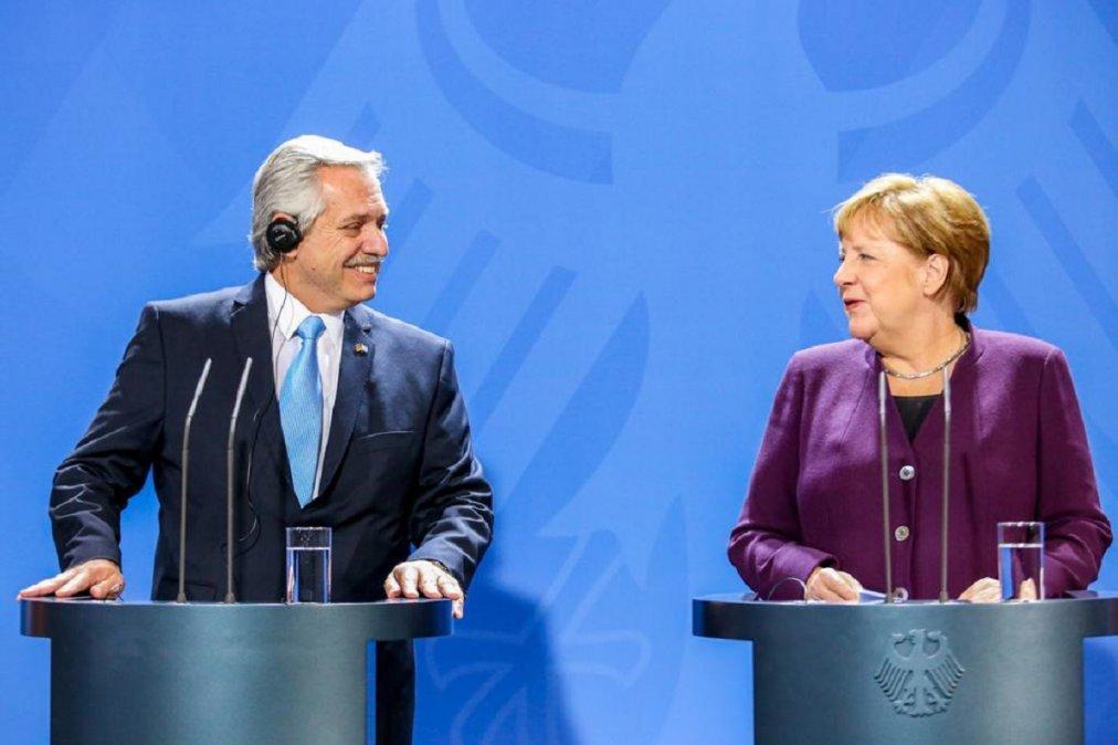 Alemania apoyará a Argentina en su negociación con el FMI