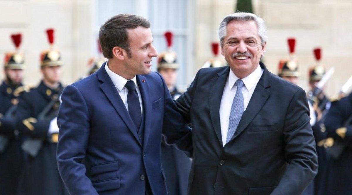 Macron: Francia acompañará y se movilizará en el FMI para ayudar a la Argentina