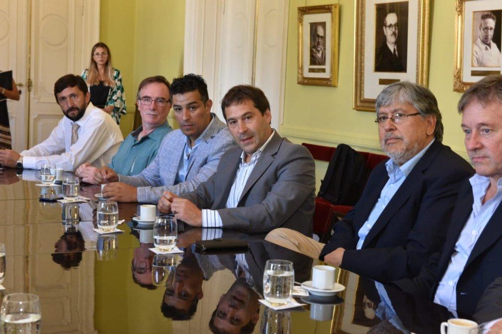 Amplia agenda de Luque en Buenos Aires
