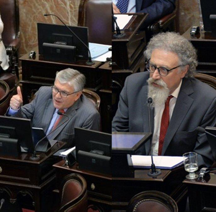 ¿Qué opinaron los senadores de Chubut sobre la Ley de Deuda?