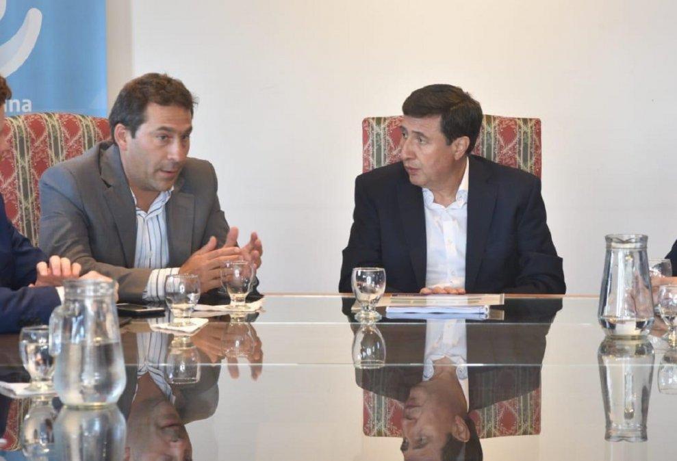 Luque gestionó en Buenos Aires por las obras inconclusas de Comodoro