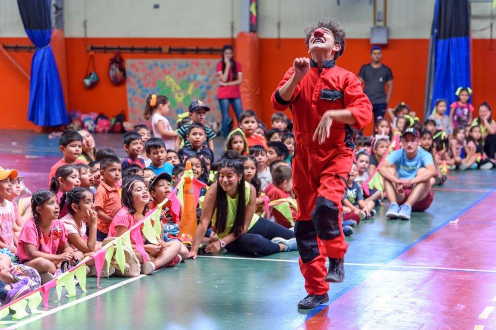 Patio Abierto: Un espacio de contención y recreación para los niños