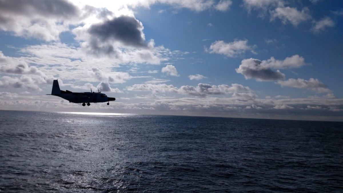 Continúa la búsqueda del tripulante desaparecido