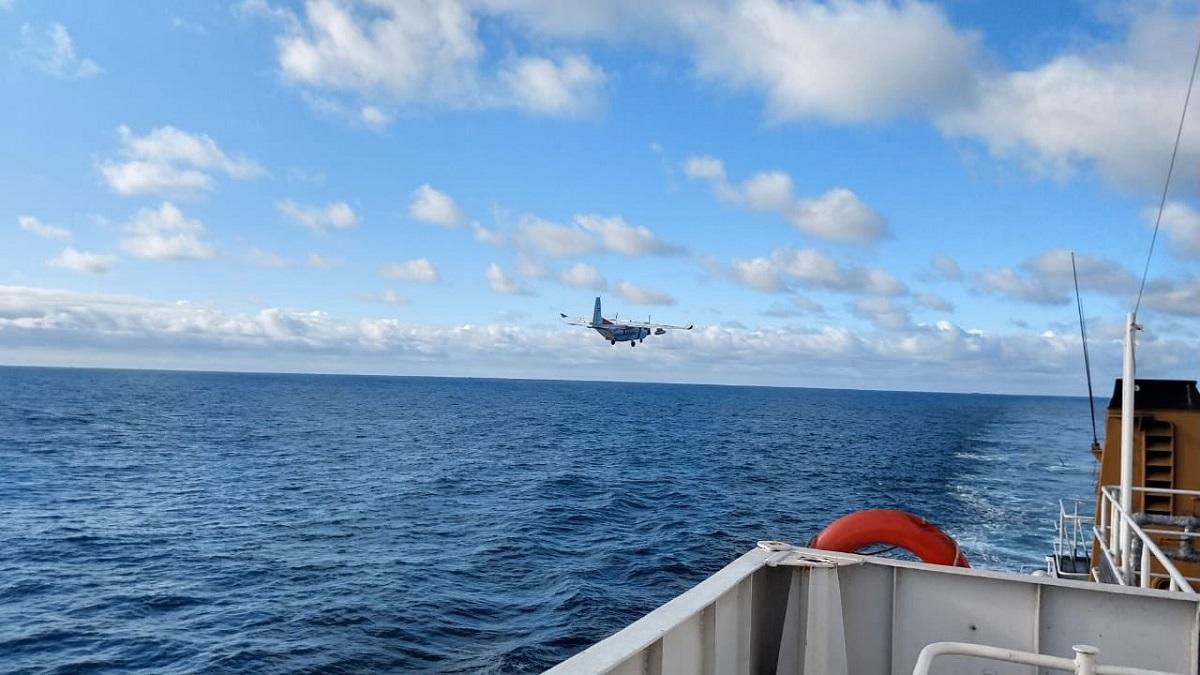 Sin resultados, continúa la búsqueda del tripulante de un pesquero