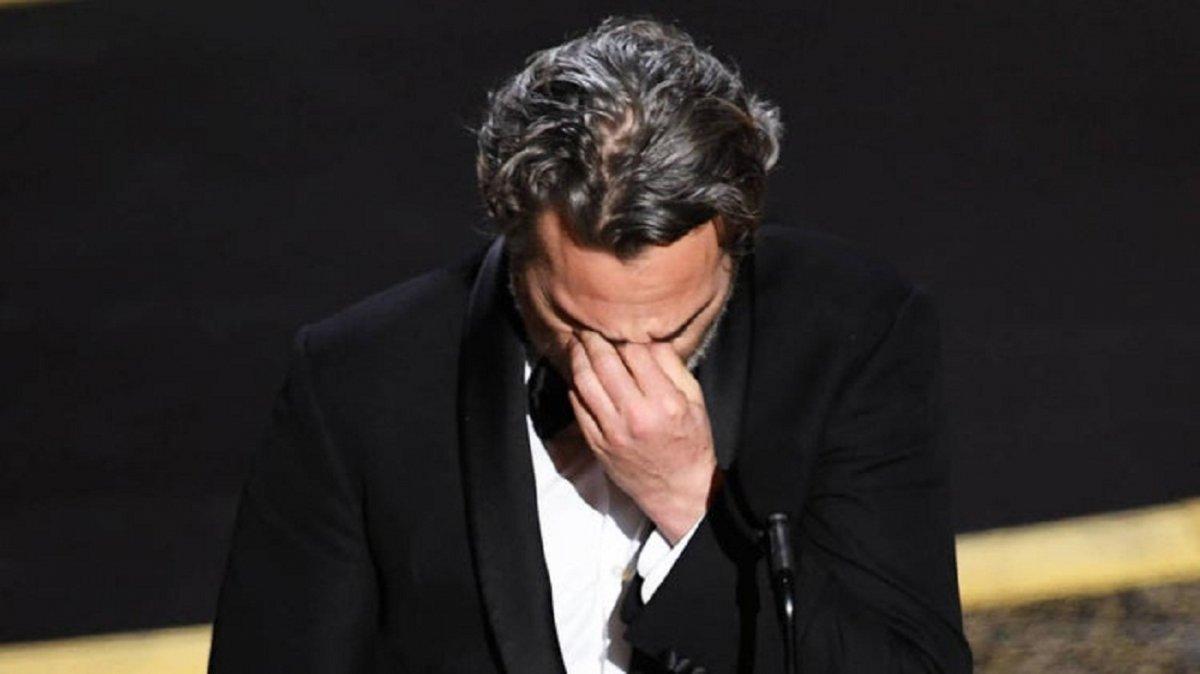Emocionante discurso de Joaquín Phoenix tras ganar el Oscar por Joker