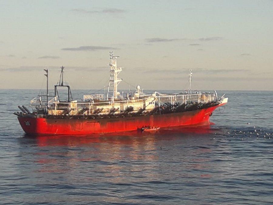 Encontraron las pertenencias del tripulante que cayó del buque