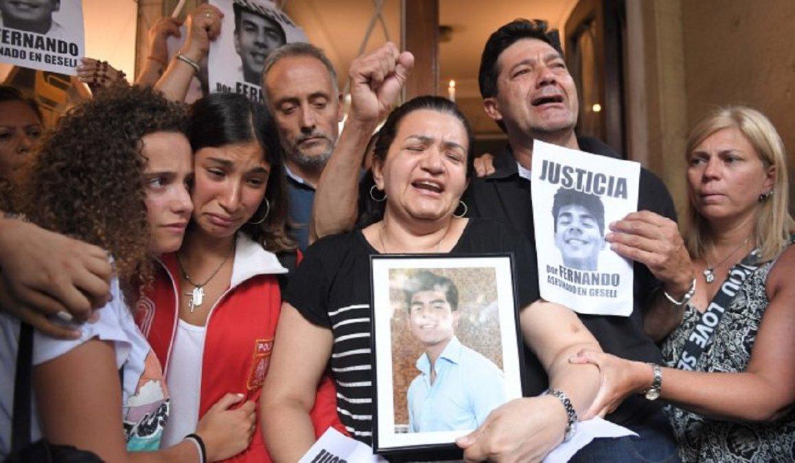La madre de Fernando Báez Sosa criticó la liberación de dos de los rugbiers