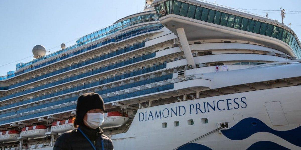 Nuevos casos de coronavirus en el Diamond Princess