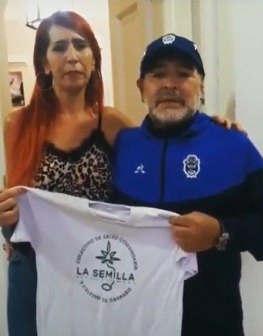 Maradona pidió por una Ley para impulsar el uso de cannabis medicinal