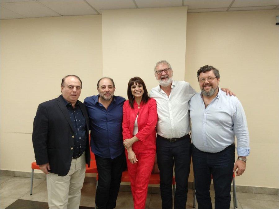 Dirigentes de AATRAC mantuvieron una reunión protocolar con Lufrano