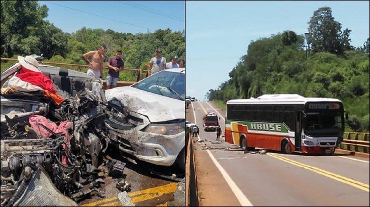 Tres turistas chubutenses murieron en un choque