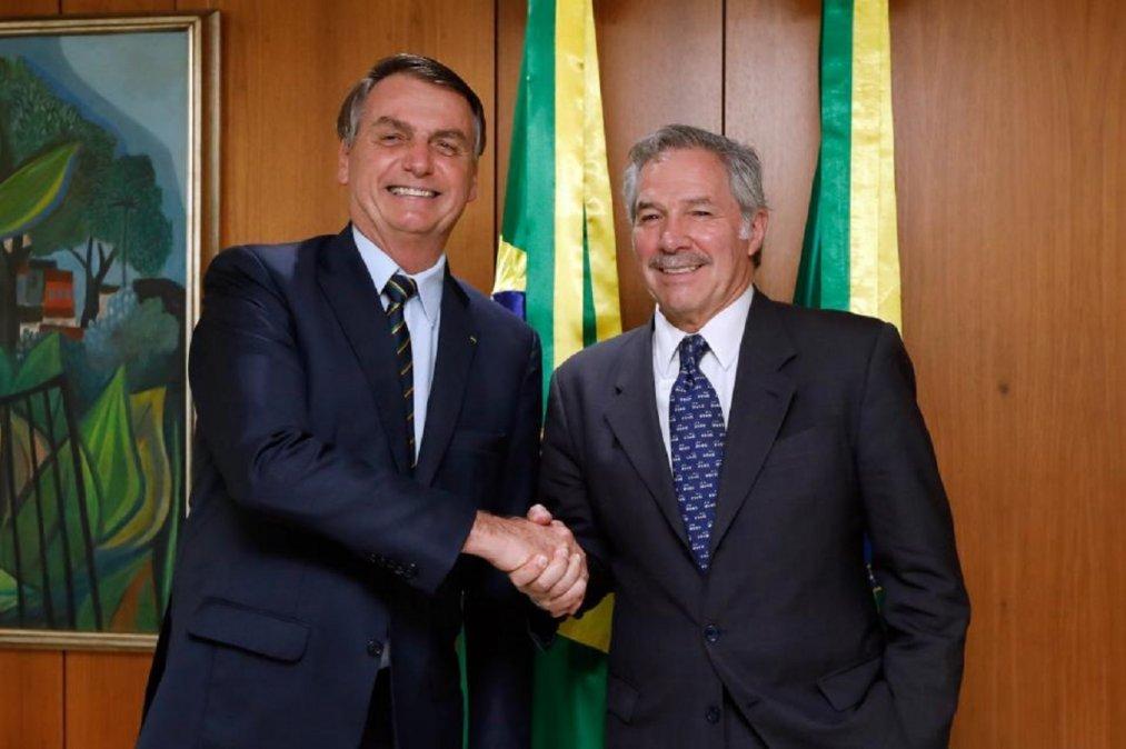 Bolsonaro: Quiero una Argentina fuerte, no una patria bolivariana