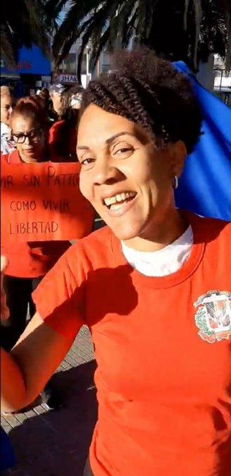 Lissette miembo de Dominicanos Mano a Mano