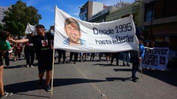 Caso Brian Gómez: Familiares y amigos marcharon pidiendo justicia