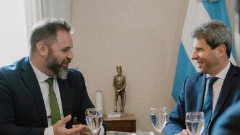 Glinski y Uñac trabajarán juntos para que la seguridad sea una política federal