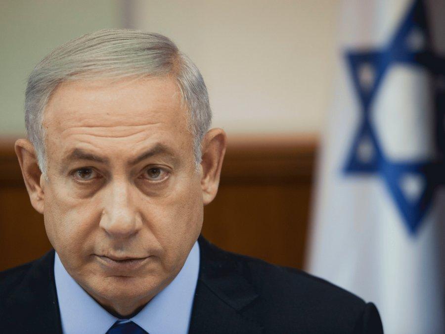 El primer ministro de Israel