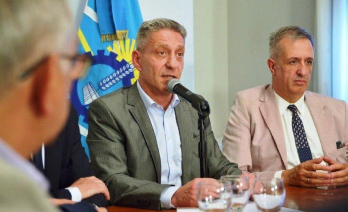 Mariano Arcioni y Óscar Antonena.