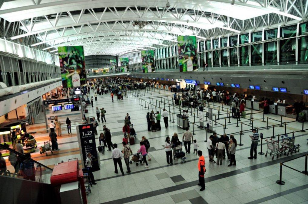 Una imagen del aeropuerto internacional de Ezeiza