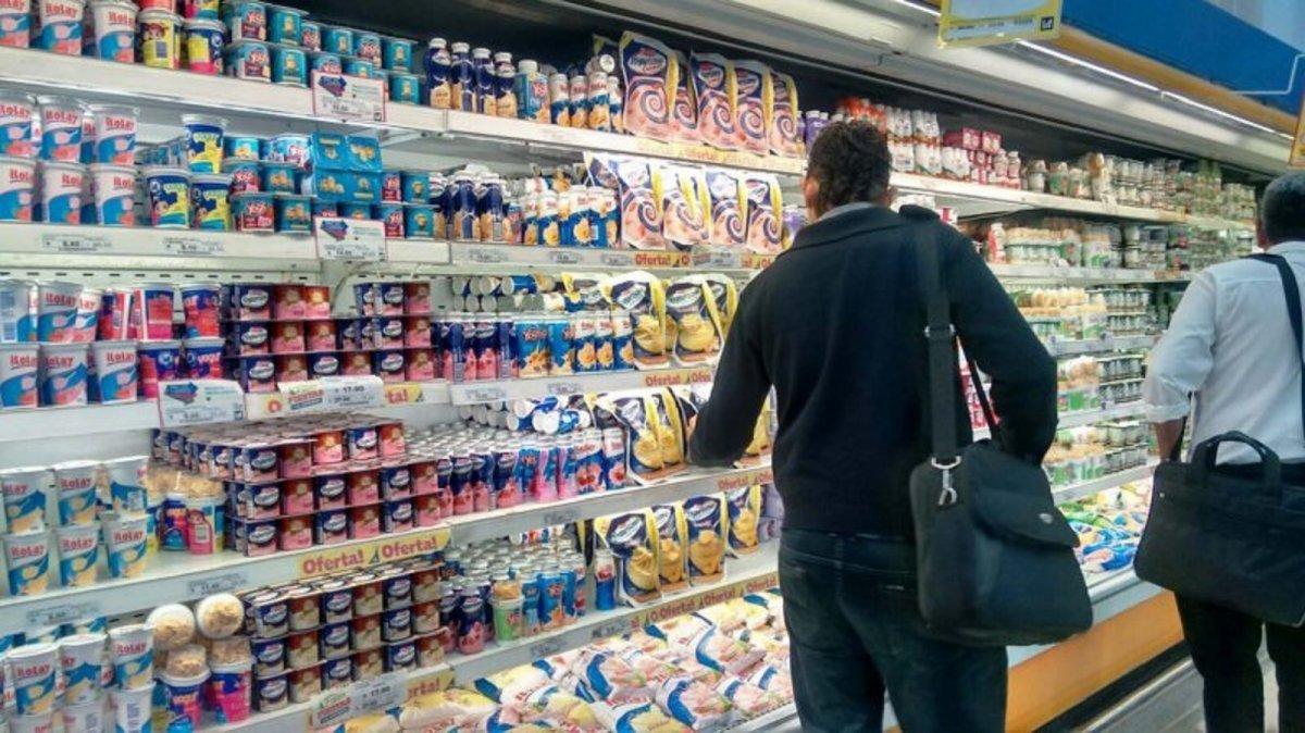 Los mayores aumentos se registraron en el rubro alimenticio.