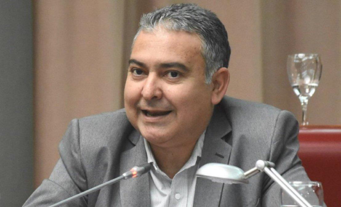 Manuel Pagliaroni se mostró a favor de realizar la sesión sin los trabajadores de la Legislatura.