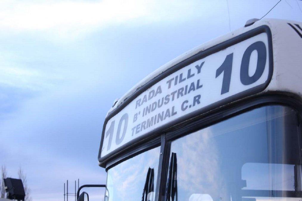Rivera confirmó que el municipio de Rada Tilly esta gestionando la continuidad del servicio interurbano.