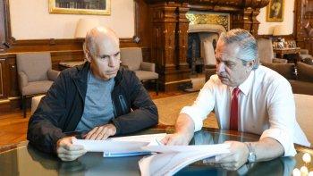 Cuarentena: Fernández y Larreta analizarán la situación de los niños
