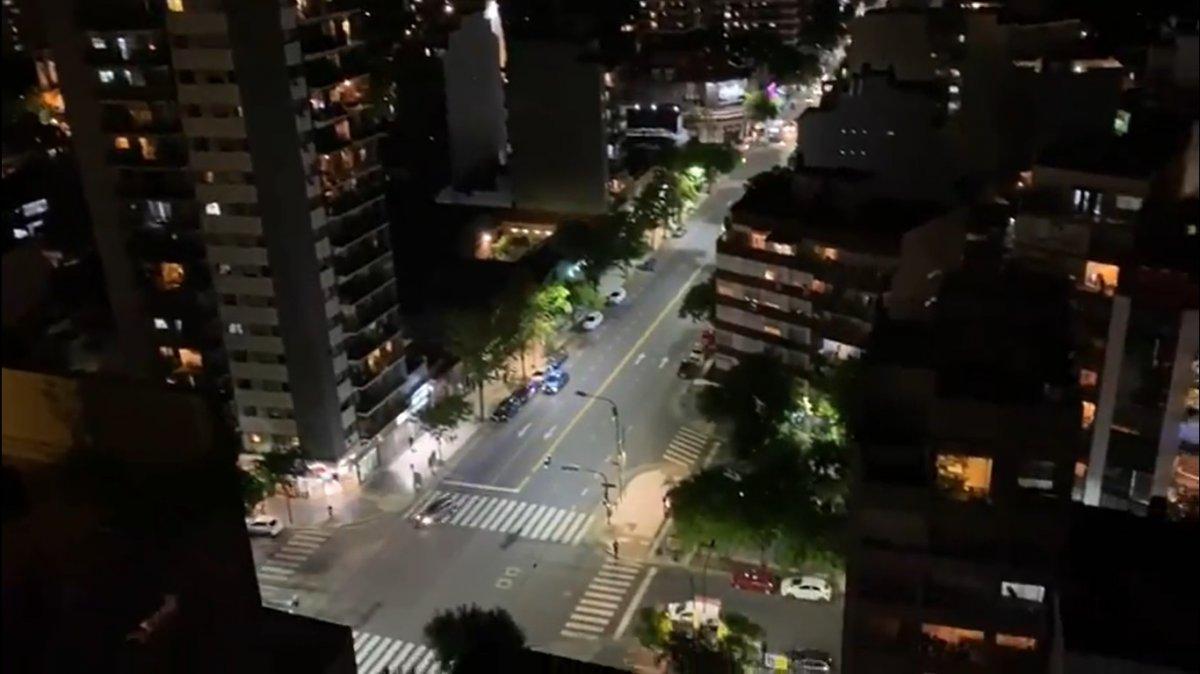 La iniciativa Argentina Aplaude tuvo gran convocatoria en Buenos Aires.
