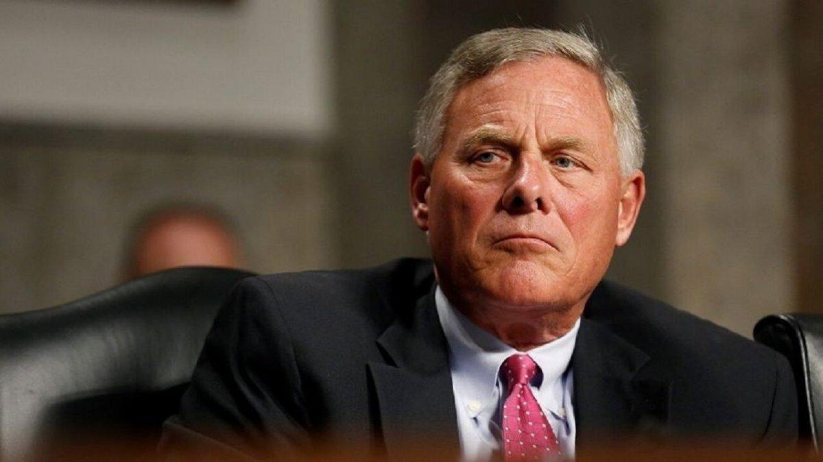El senador estadounidense Richard Burr el pasado 21 de enero en el Senado