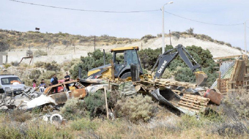 Evitaron que durante plena cuarentena se usurpen terrenos en la zona de Km.8 (Imagen ilustrativa)
