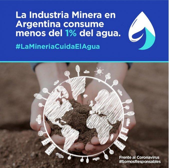 El cuidado del agua es una preocupación fundamental del sector minero