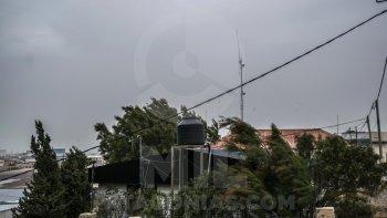 Sábado nublado y ventoso en Comodoro