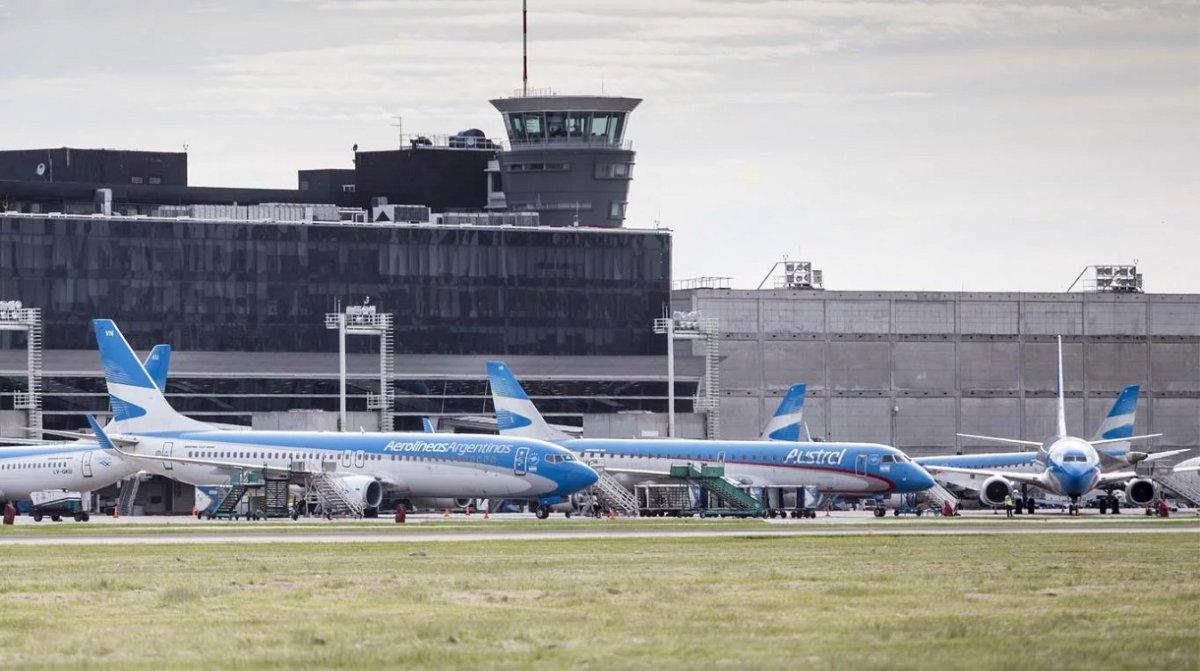 Se suspenden todos los vuelos a Chubut